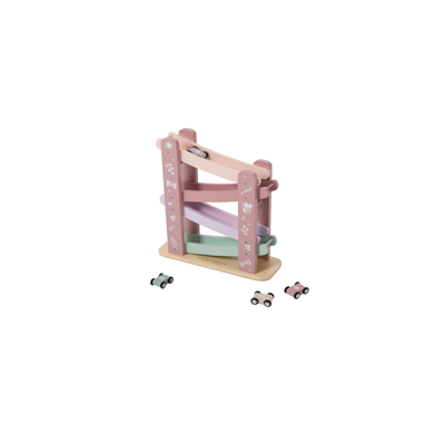 Wooden Race Track pink