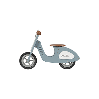 Wooden Scooter blue